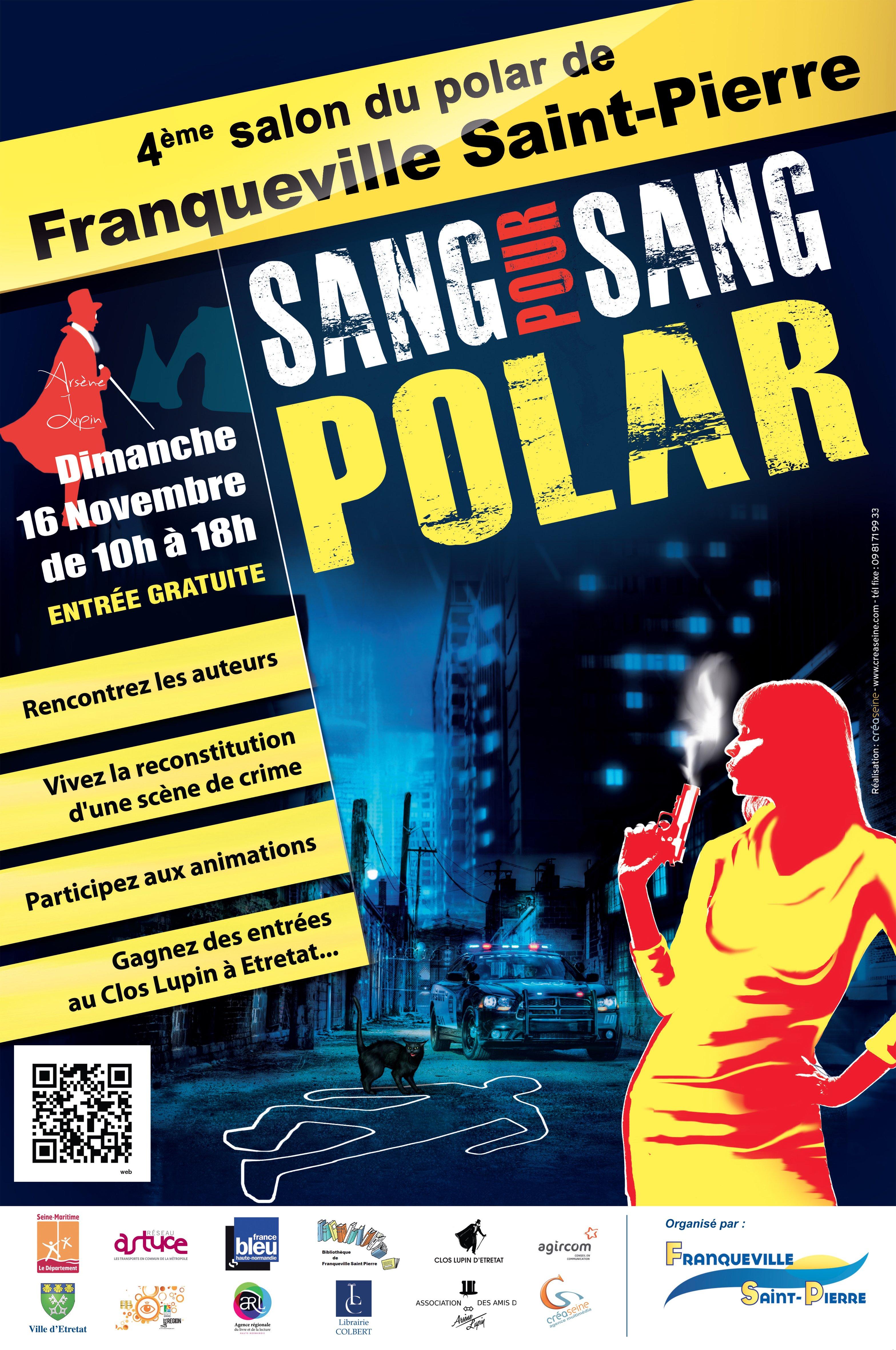 Franqueville-Saint-Pierre France  city photos gallery : 4e Salon du Polar de Franqueville Saint Pierre Seine Maritime, France ...